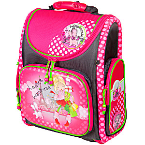 Школьный рюкзак – ранец HummingBird K106 Lady с мешком для обуви
