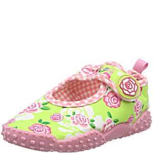 Тапочки для купания в море детские Playshoes Розы